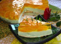 Sernik na zimno z pomarańczami. Cheesecake, Food, Cheesecakes, Essen, Meals, Yemek, Cherry Cheesecake Shooters, Eten