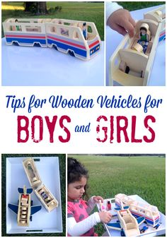Tips for Wooden Vehicles for Boys and Girls