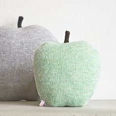 apple shaped cushions...