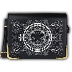 Black Kawaii Card Captor Sakura Shoulder Bag SP165356