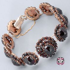 Victorian Rose-cut Garnet Bracelet