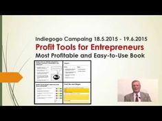 Profit Tools for Entrepreneurs, Book and E-Book. | Indiegogo