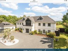 This beautiful family home built in 2016 offers sq of space including a self contained annex. The Bi Folding doors in the kitchen… Folding Doors, Beautiful Family, Surrey, Detached House, Building A House, Home And Family, Mansions, House Styles, Annex