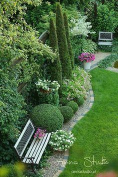 Back Garden Design, Backyard Garden Design, Small Backyard Landscaping, Garden Landscape Design, Garden Bed, Back Gardens, Small Gardens, Outdoor Gardens, Garden Planning