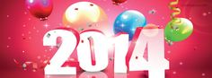 2014 Party New Year Facebook Cover CoverLayout.com