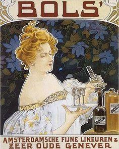 1901 Amsterdam ad for Bols