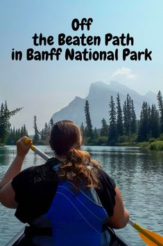 Banff is a must see Canadian tourist destination but it can get pretty busy, especially in the summer. Here's some off beaten path in Banff ideas. Canada Destinations, Top Travel Destinations, Canadian Travel, Canadian Rockies, Quebec, Banff National Park, National Parks, Montreal, Vancouver