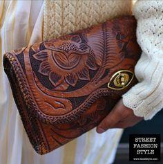 leathercraft clutch, san francisco fashion blog, thesfstyle, sfstyle, street fashion style,