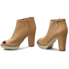 Magasított cipő JENNY FAIRY - WS1278-5 Camel cb71d41941