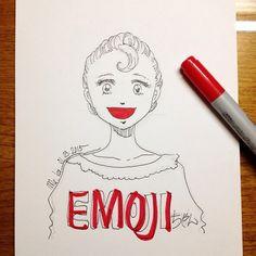 hello | #mekaworks #drawing #emoji