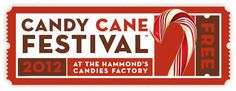 Will you be joining the fun?!!  Come out to Hammond's for the 12th Annual #CandyCaneFestival - it's the #sweetest time of the year!  http://www.hammondscandies.com/candycanefestival