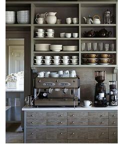 This is her kitchen!    Francine Gardner - Art de Vivre: Design trends...eclectic style