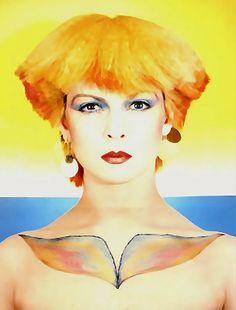 "Toyah Willcox May 1981 by Jay Myrdal ""Anthem"" art by me * * * Original photo here http://www.pinterest.com/pin/510806782707161860"
