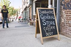 How To Build A Sidewalk Sign