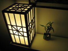 Japanese Shoji lamp