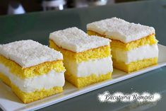 Prajitura alba cu crema de lapte pregatita de Ramona Dascalu I Want To Eat, Food Cakes, Savoury Cake, Vanilla Cake, Cake Recipes, Cheesecake, Deserts, Food And Drink, Cooking Recipes