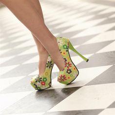 10 Gorgeous Floral High Heels | Fashion Inspiration Blog