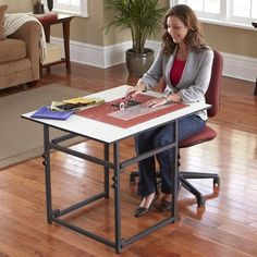 Sullivans Add a Table Expandable Cutting Table