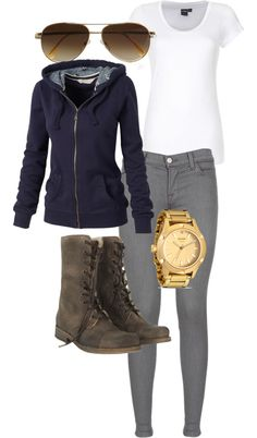 """Weekend up north"" by shaukom on Polyvore"