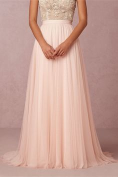 @lovemarleyoffic Amora Skirt in porcelein pink from @BHLDN