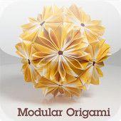 Modulars, lots of kusadama--Folding Instructions