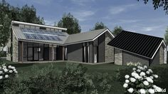 www.artbuild.nl Energieneutraal woonhuis in moderne stijl.