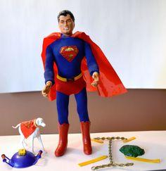 Ideal Captain Action vintage 1960's Superman complete outfit #Ideal