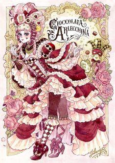 Writing Fantasy, Fantasy Art, Alice In Wonderland Diy, Character Art, Character Design, Cute Art Styles, Lowbrow Art, Pretty Art, Anime Art Girl