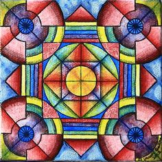 Color, shapes and its all still symmetrical :)