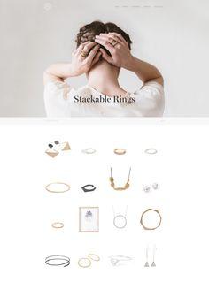 Jewelry Website, Wordpress Theme Design, Infographic, Branding, Layout, Graphic Design, Jewellery, Jewel, Tags