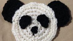 How To Crochet A Simple Panda Bear Applique - DIY Crafts Tutorial - Guidecentral