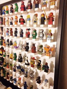 Great solution to keep my sons legos in order! Lego storage, lego mini figure display, DIY, crafts, #momlife