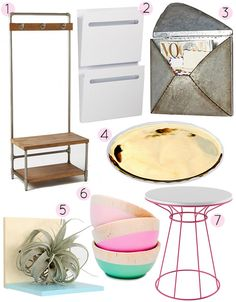 How to Never Again Lose Your Keys - The Landing Strip - from Design*Sponge