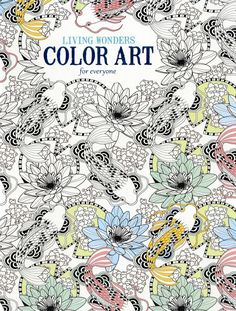Leisure Arts Living Wonders Adult Coloring and Activity Book
