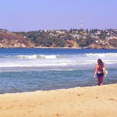 Soak up the rays and catch some waves ️ #purakai #beachlife #surfer #oceanlove : Purakai Surf Ambassador @almadenisse