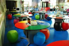 Teenagers fidget. Maybe boys do especially - although I am always sceptical of gender stereotypes. These chairs in a Netherland's school require fidgeting - they are not stable,  if you don't move a bit you fall off them. Playful too huh?