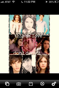 Sydney rush made this amazing edit on the fosters Brandon and callie