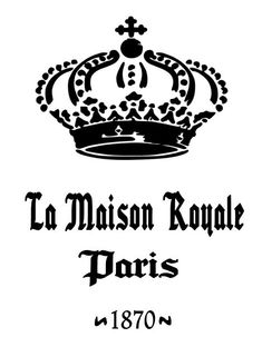 Schablone Stencil Shabby Vintage Cafe de Paris France https://www ...