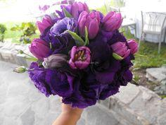 Bouquet lisianthus y tulipus de Erica Villegas Atelier Floral | Foto 23