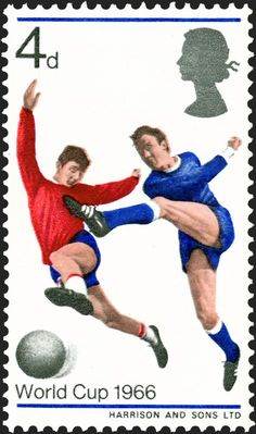 To celebrate the England football team's 1996 FIFA World Cup victory 1966 World Cup, Fifa World Cup, Uk Stamps, Stamp World, Football Stickers, Postage Stamp Art, England Football, My Youth, Team S