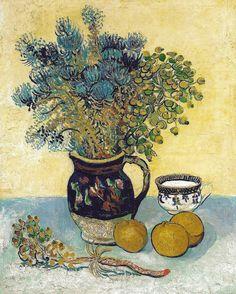 michellemlcr:  Vincent van Gogh - Still Life, 1888 at the Barnes Foundation Philadelphia PA (by mbell1975)