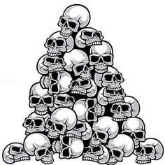 Skull pile art skull tattoos, skull art и skull Skull Stencil, Stencil Painting, Skull Art, Silhouette Tattoos, Bird Silhouette, Skull Tattoo Design, Skull Tattoos, Crane, Pin Up Drawings