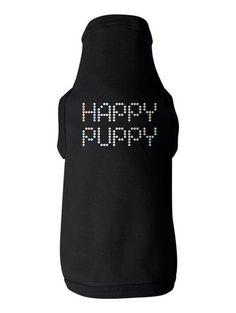 Happy Puppy Baby-Rib Dog Tank