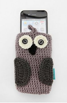 Knit Animal iPhone Case from Urban Outfitters. Deb you could totally make a knit Iphone and Ipad! :) @deb