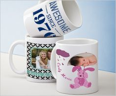 Vistaprint $$ Personalized Mugs Only $5.99 + FREE Shipping For New Customers!