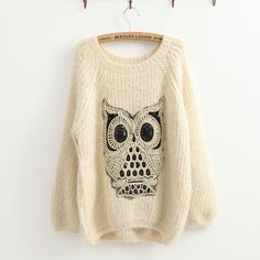 Twinking Owl Sweater $29.99