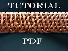 alambre tutorial envuelto, tejido de alambre tutorial, tutorial pdf, joyas tutorial, tutorial de alambre, tutorial en mano, clases de joyería, pdf