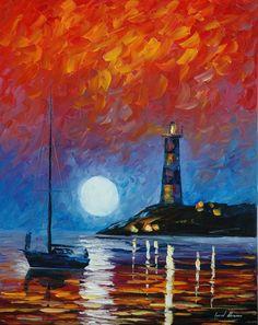 Lighthouse - Leonid Afremov