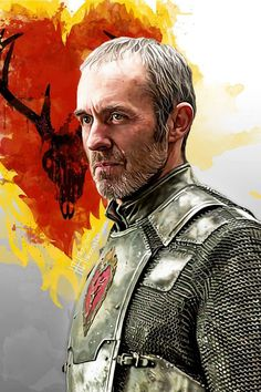 Stannis Baratheonl ~ House Baratheon Sigil | Game of Thrones - by Hilary Heffron, Hilarious Delusions