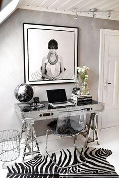 HOME OFFICE | decorating for glamour + posh organization — The Decorista